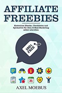 AFFILIATE FREEBIES Kostenlose EBooks, Checklisten und Spickzettel